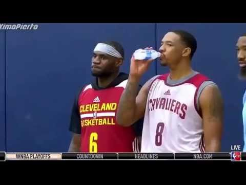Cleveland cavaliers real time training camp 2016-2017 season