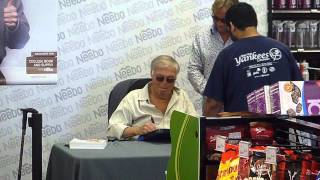 Adam West signing autographs (original Batman, Family Guy) - TopSignatures.com