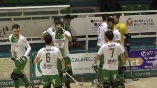 Calafell esportiu: Hoquei 3/12/2016 CP Calafell 3-5 Sant Cugat