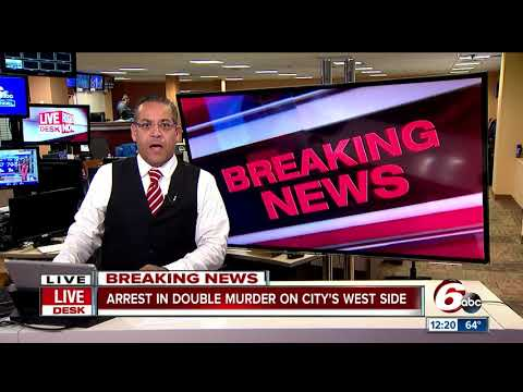 Suspect Of Indianapolis Double Murder Captured In Hammond, Indiana