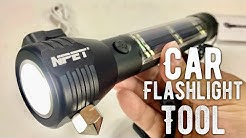 T09 Solar Flashlight and Emergency Car Tool by NPET Review