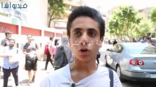 بالفيديو :طلاب الثانوية العامة