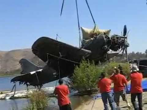 Curtis Helldiver SB2C - Recovered from Otay Reservoir