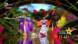 Кыргызстанцы на Шоу Талантов Болгарии! Радислав Сафин и Ольга Крамер
