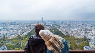 THE BEST VIEW OF PARIS IS FROM THE TOP OF THE EIFFEL TOWER(We ticked off a major bucket list item... climbing to the top of the Eiffel Tower. Come Fly The Nest with us ▻▻ http://bit.ly/1YwmyGN Day 254 // October 19th 2015 ..., 2015-10-22T18:32:47.000Z)