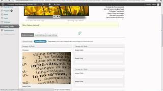 Adding a Homepage Slideshow With Easing Slider WordPress Tutorial