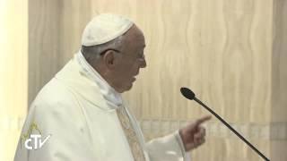 Papa Francesco: lo scandalo del cristiano mondano