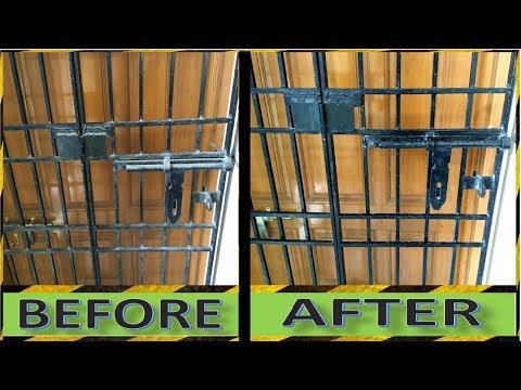 How to Clean Windows Grills    How to Clean Door Grills    Crazy Indian Hacker