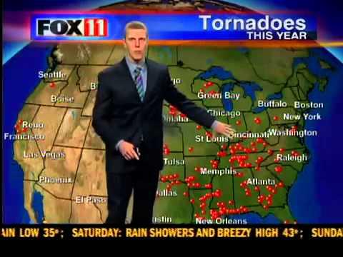 U.S. tornado count above average