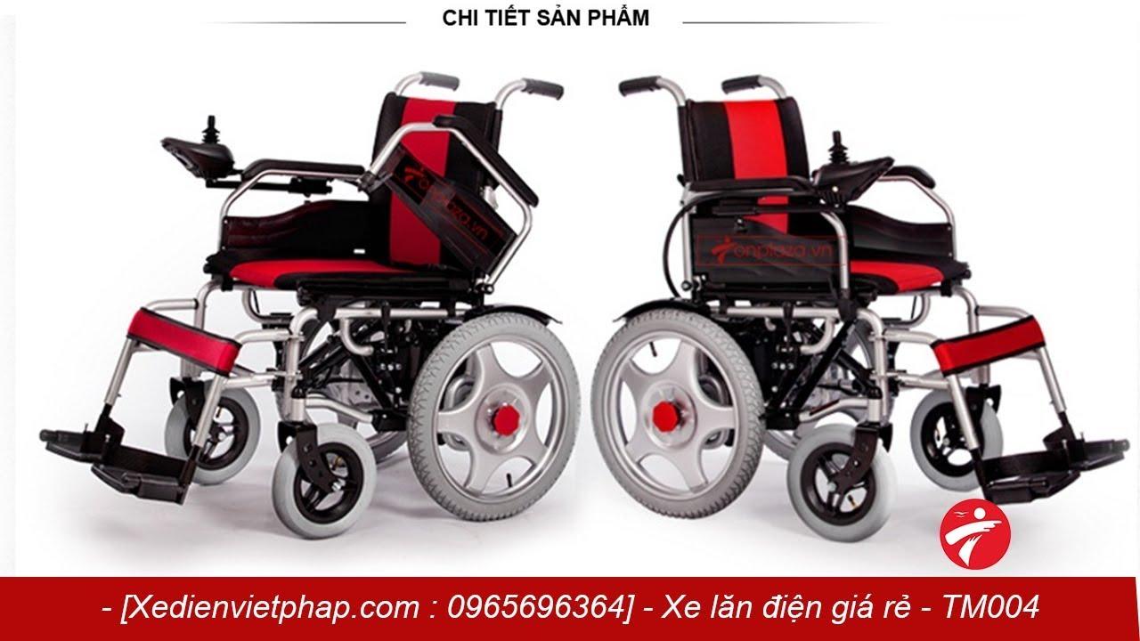 Xe lăn điện cao cấp giá rẻ cho người già, khuyết tật TM004 – Xe điện việt pháp