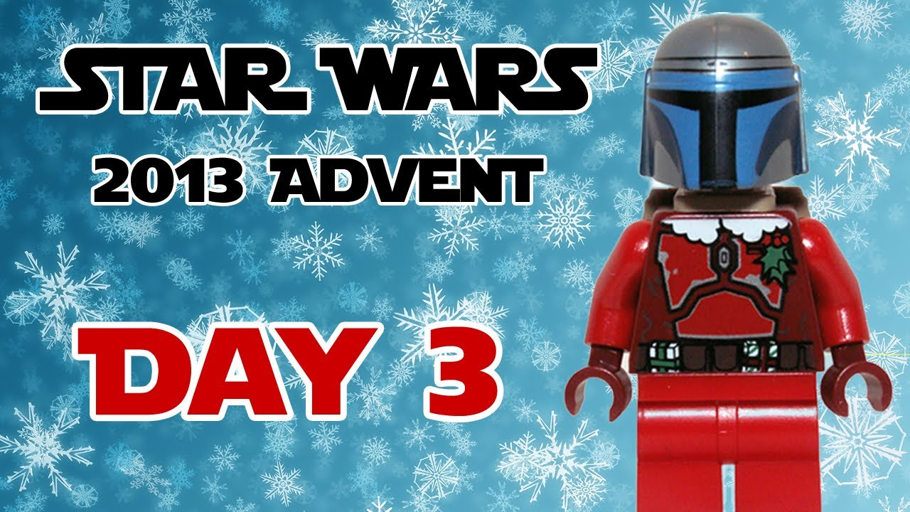 LEGO Advent Calendar 2013 Day 17 Star Wars -  Naboo Cruiser 75023