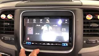 Alpine ILX-207 Dodge Ram 2015