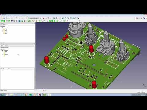 3D step generation using FreeCAD- PCB directly from KiCAD