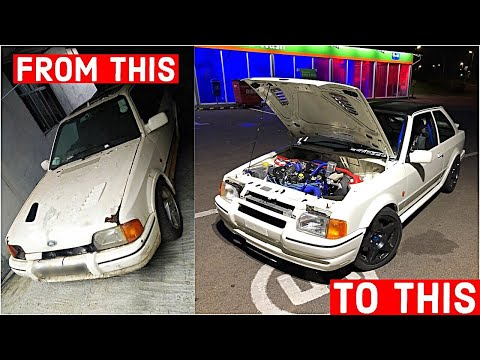 Rebuilding A Ford Escort RS Turbo IN 10 MINUTES !