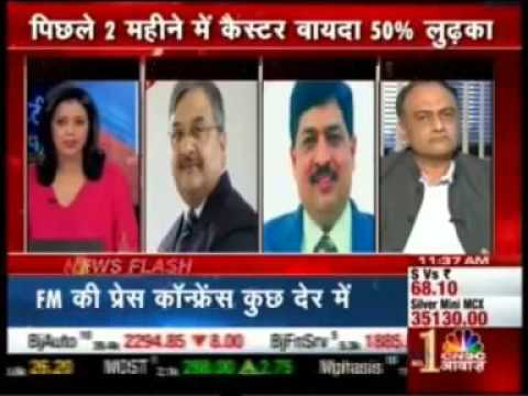 CNBC Awaaz - Mr. Mayur Mehta, Editor, Commodity world's view on Castor Contract Suspension coverage