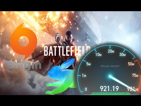 Downloading Battlefield 1 from Origin with Google Fiber