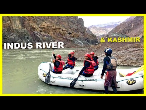 White Water River Rafting || Indus River and Floating Market || Ladakh || Kashmir ||Canon EOS 200D
