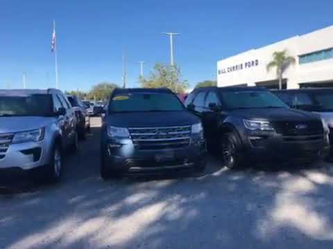 Wide Selection of Ford Explorers