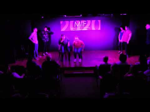 Clique Bait At Just The Funny's Miami Improv Festival 2020