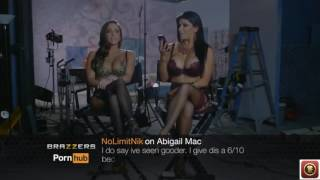 Brazzers pornstars read mean tweets