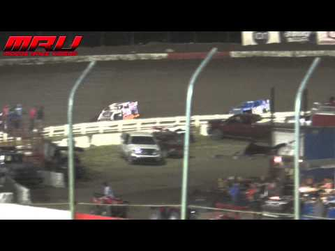 USMTS Modified Feature at The Silver Dollar Nationals at I-80 Speedway on July 19th