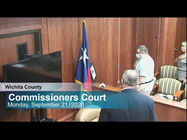 Commissioners Court 9/21/2020