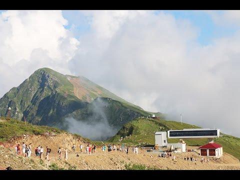 Роза Хутор - горнолыжный курорт в Сочи/Адлер летом (Rosa Khutor, Adler, Sochi)