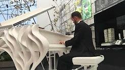 Sasha Veregin Playing $1,000,000 Fazioli - Magic Piano