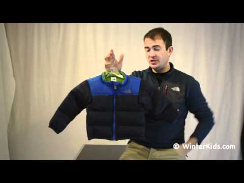 acfaac2b3b The North Face Infant Throwback Nuptse Jacket.m4v - YouTube