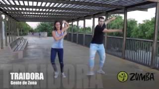coreografía Traidora Zumba (Marc Anthony & gente de zona)
