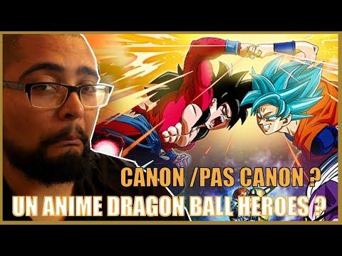 Dragon Ball Heroes c'est Canon - Chef's Reaction