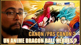 Dragon Ball Heroes c'est Canon - Chef's Reaction