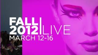 Fashion Week Live Teaser Video