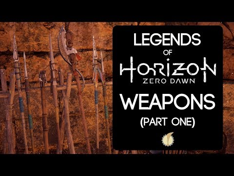 Legends of Horizon Zero Dawn: Weapons (Part One) thumbnail