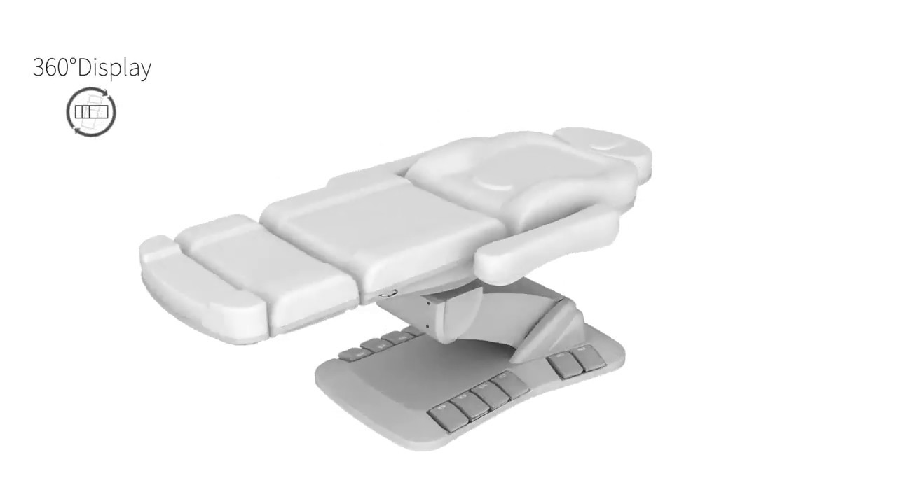 Spa Source - PEDALI - 4 Motor Facial Bed - Exam Chair - Spa Equipment