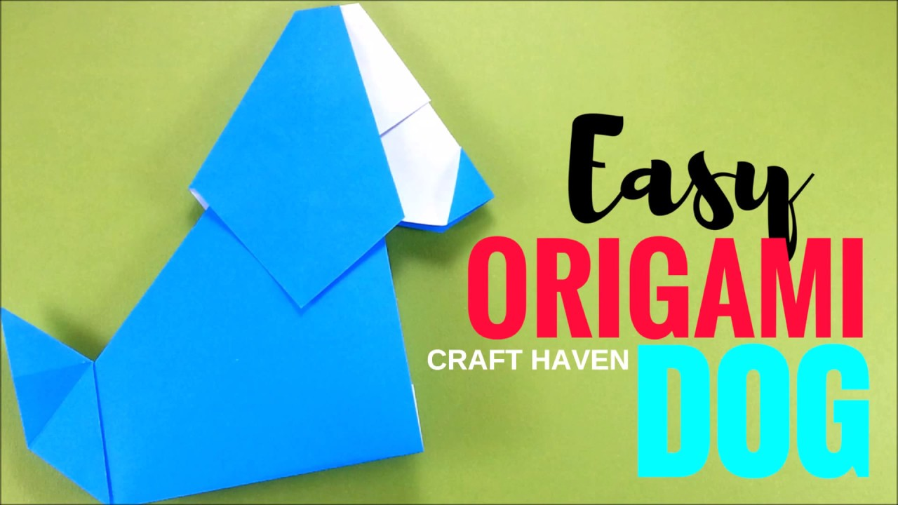 Origami dog easy and cute tutorial origami easy very easy origami dog easy and cute tutorial origami easy very easy tutorials for beginners diy for kids jeuxipadfo Gallery
