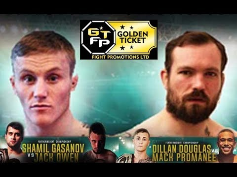 GTFP 7 - Golden Ticket Fight Promotions - Chris Miah Vs Jack Owen