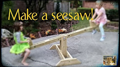DIY Seesaw build (modified Anna White plans)