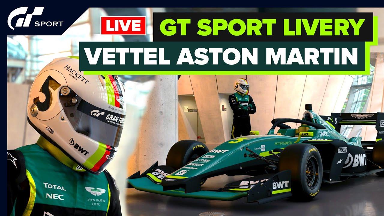 Sebastian Vettel Aston Martin 2021 Concept Gt Sport Youtube