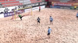Пляжный футбол.  Хит-парад  1-го этапа ЧР-2015