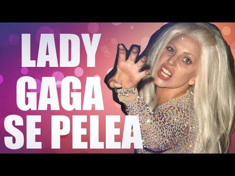Lady Gaga escupe a un fan que se mete con Asia!!!
