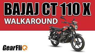 Download Bajaj CT110X - Walkaround and Features | Hindi | GearFliQ