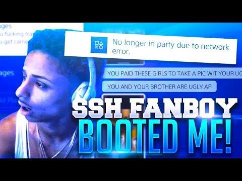 TRASH TALKING SSH FANBOY BOOTS ME OFFLINE AFTER I DROP HIM OFF NBA 2K17( MUST WATCH)!!