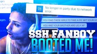TRASH TALKING SSH FANBOY BOOTS ME OFFLINE AFTER I DROP HIM OFF NBA 2K17( MUST WATCH)!!