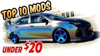 Top 10 Cheap Mods Under $20