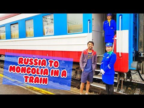 International Train Journey - RUSSIA to MONGOLIA - Border Crossing