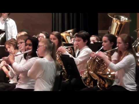 March-4-2017 Southeastern District Band Concert, (To the last minute)