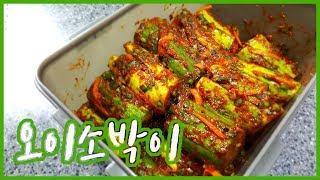 집밥 백선생3 시원 아삭한 오이소박이, 손질도 양념도 간단하지유 by 은수저