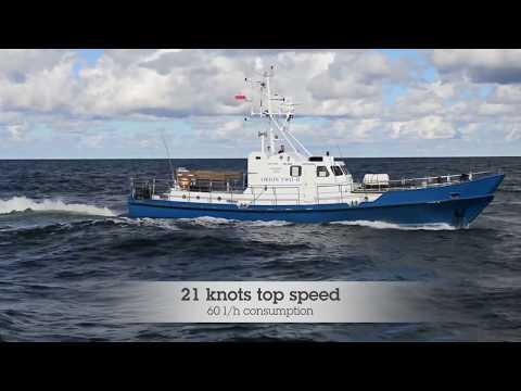 Shipsforsale Sweden, 2 x Passenger fishing vessel, ex. Coastguard boat for sale.