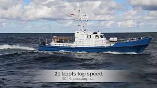 Shipsforsale Sweden, Passenger fishing vessel, ex. Coastguard boat for sale.
